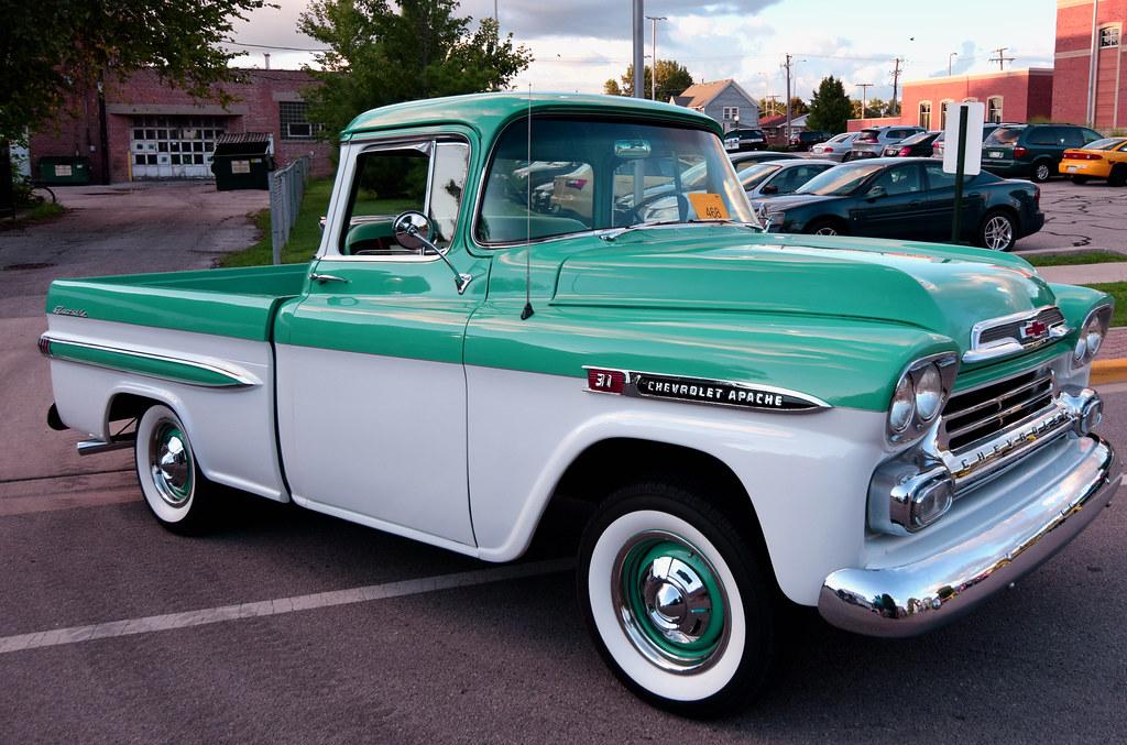 59 Chevy Apache | 1959 Chevrolet Apache Pickup. Processed ...