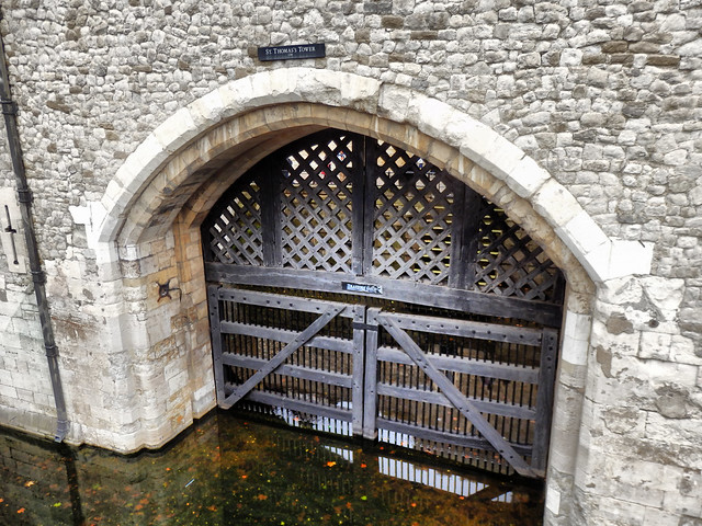 Traitors' Gate, Tower of London