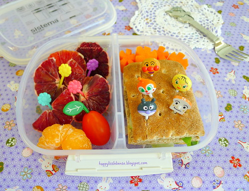 Sardine Melt Mini-Sandwich Bento | by sherimiya ♥