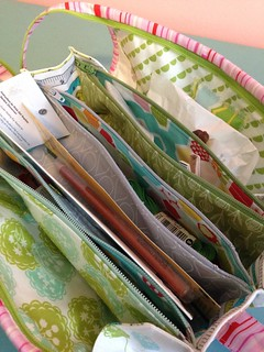 Beautiful sew together bag from Yvonne whitepaintedhouse love love love!