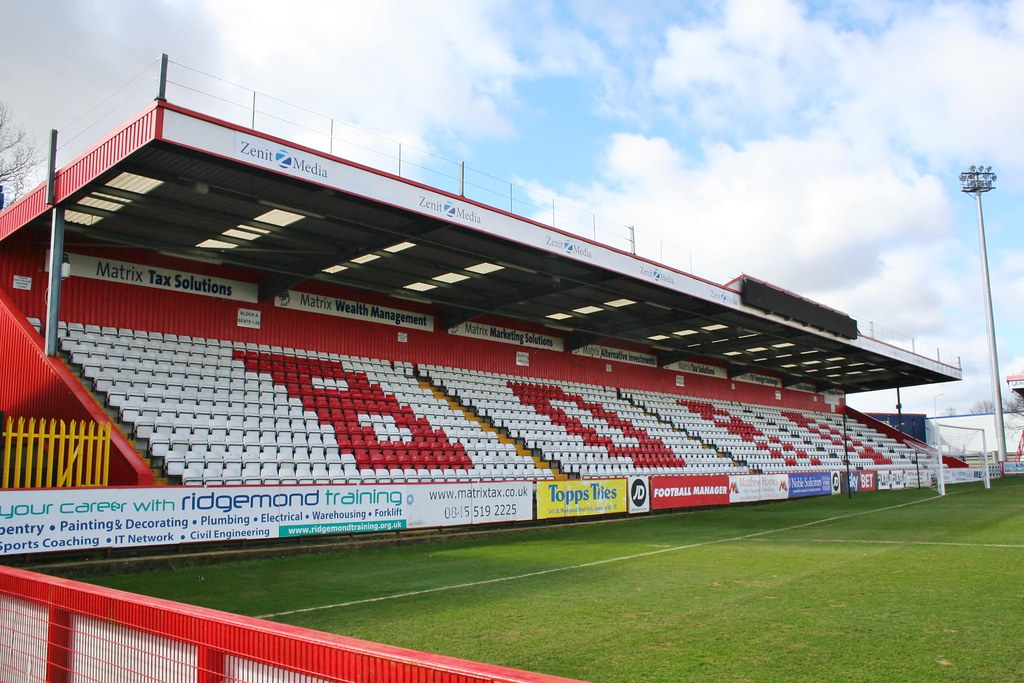 StevFC-4 | Lamex Stadium - Broadhall Way Home to Stevenage F… | Flickr