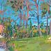 Orangerie, Gouache on board, 42x29cm