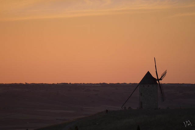 Molinos en La Mancha