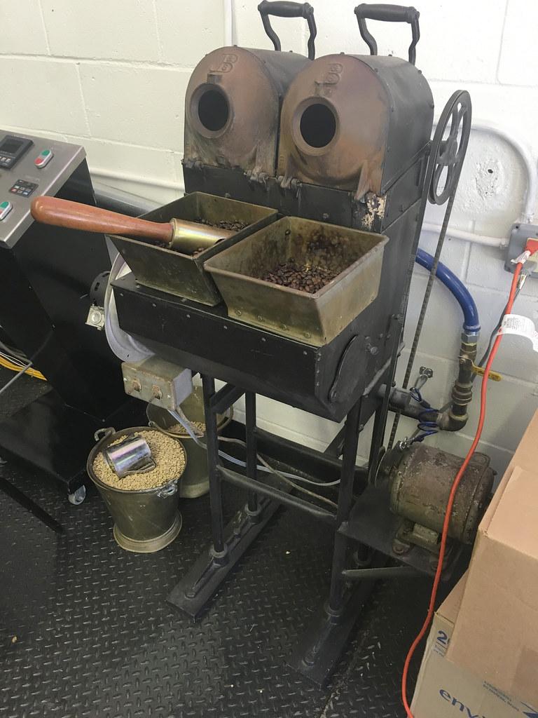 Antique Jabez Burns & Sons 2 barrel sample roaster (coffee… | Flickr