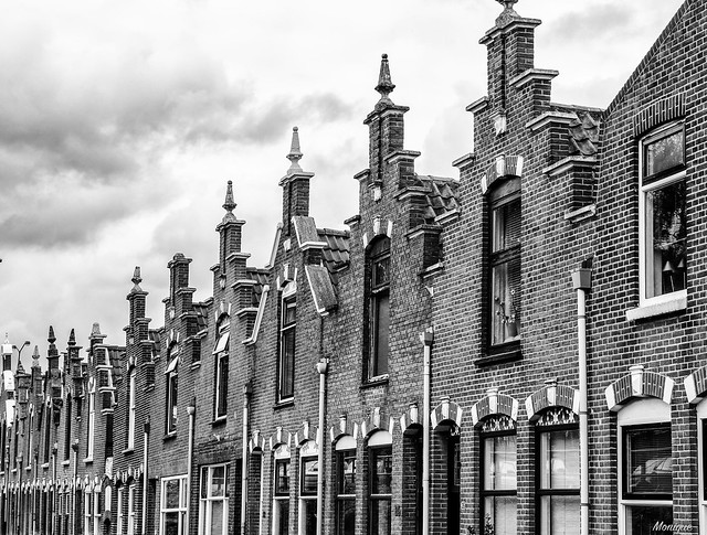 Old dutch house fronts. Dordrecht. The Netherlands. ( in explore  24-7-2016 )