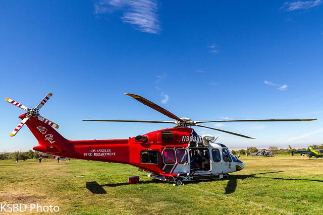 Los Angeles City Fire Agusta Spa AW139 N305FD