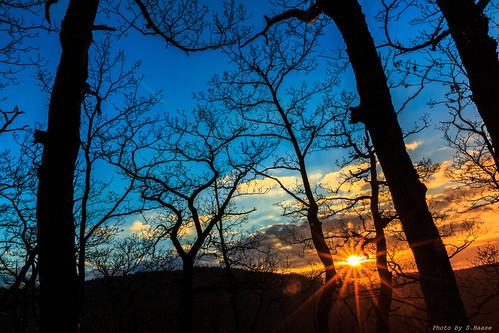 sunset sun nature landscape sonnenuntergang natur landschaft harz rosstrappe sonnenuntergangrosstrappe