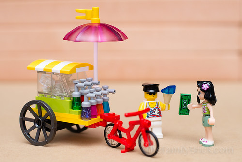 LEGO Friends Piragua Cart | by The Family Brick