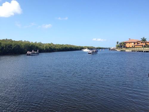 sunday sun summer swfl florida capcoral cc sunnyday canal vessels boarding bothsides sky weather erkohl er kohl