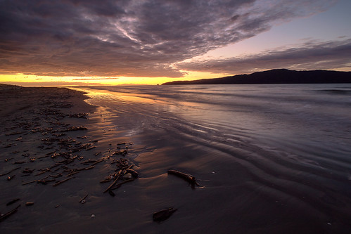 beach coastallandscape coastline evening kapiticoast kapitiisland landscape nature newzealand northisland paraparaumu paraparaumubeach seascape sunset wellington nz