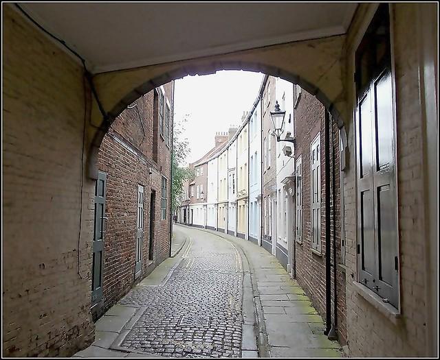 Prince Street in Hull ..