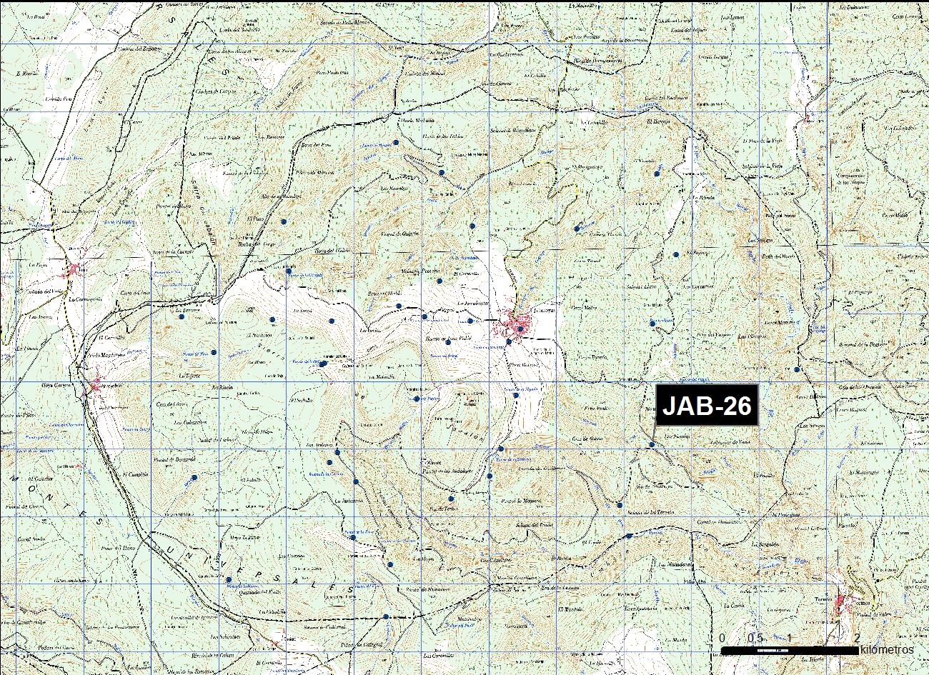 JAB_26_M.V.LOZANO_POZO INCENDIOS LA SILLA_MAP.TOPO 1