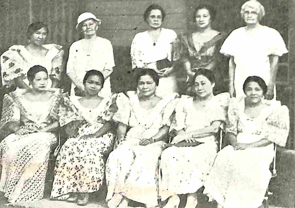 The Board of Directors of the National Federation of Women's Clubs of the Philippines which took a lead in the campaign for the success of plebiscite on women's suffrage in 1937