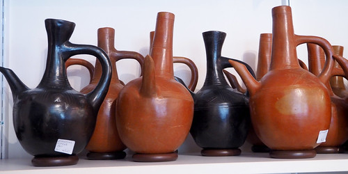 PC031236a Ethiopian coffee pots with Spouts | by ann porteus, Sidewalk Tribal Gallery