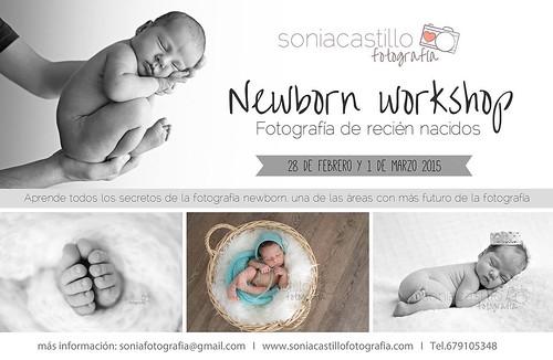 Taller de fotografía de recién nacidos