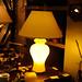 Brass vintage lamp
