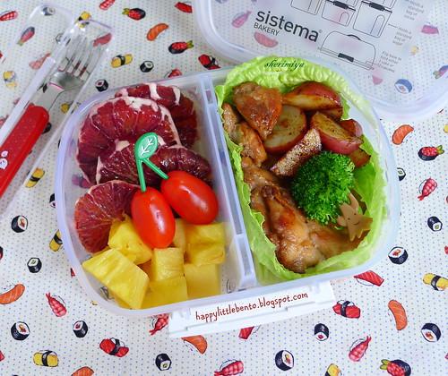 Shoyu Chicken Bento   by sherimiya ♥