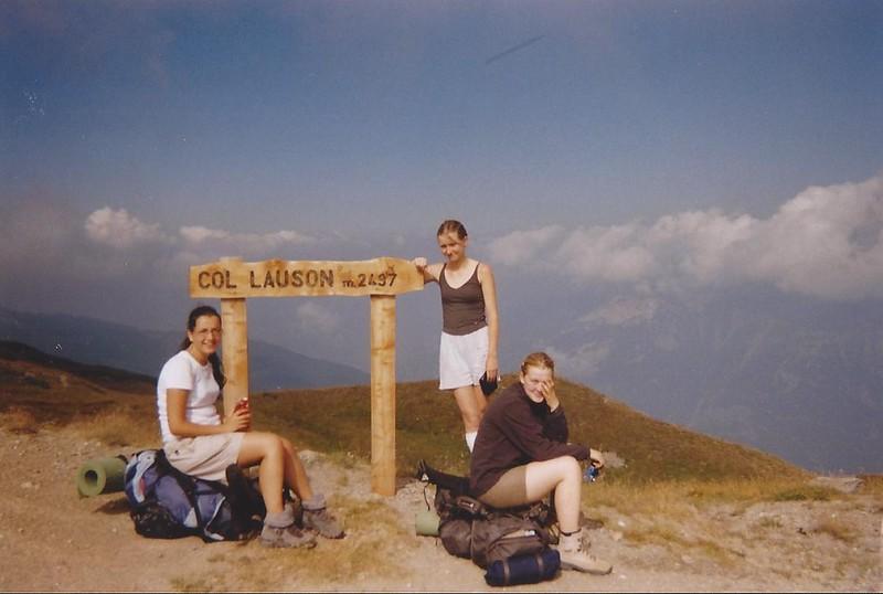 17 ans, 3 semaines de trek avec l'UCPA dans les Alpes, entre France et Italie