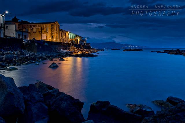 Sul far della sera a Torre Archirafi