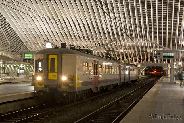 NMBS 739 Luik-Guillemins
