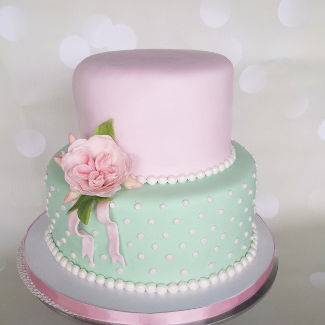 Strange Shabby Chic Vintage Inspired 18Th Birthday Cake Cake Bi Flickr Personalised Birthday Cards Cominlily Jamesorg