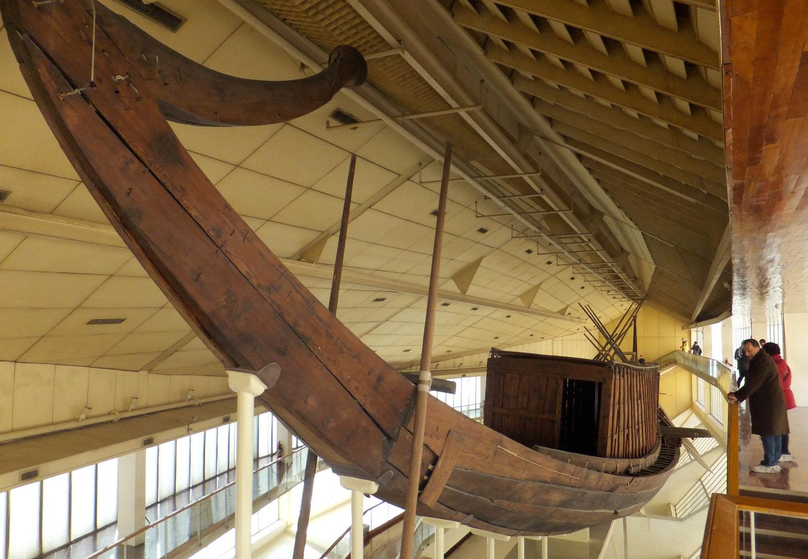 Khufu Boat Museum, Giza, Egypt.