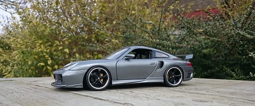 Porsche 996 GT2 Seal Grey (1) | by www.MODELCARWORKSHOP.nl