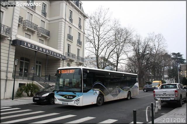 Iveco Bus Crossway LE - Compagnie de Transport du Lac du Bourget (RATP Dev) / Ondéa n°46