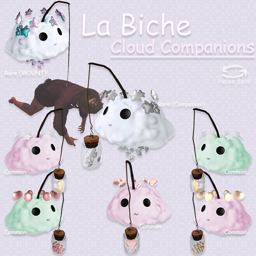 Cloud Companion Pets @ The Gacha Garden
