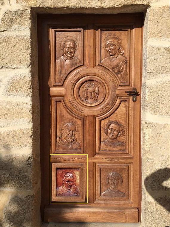 3. PORTALE «Eglise paroissiale Saint-Césaire de Grosseto-Prugna Porticcio» CORSICA