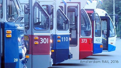 Amsterdam: Bus line up 1957-2003