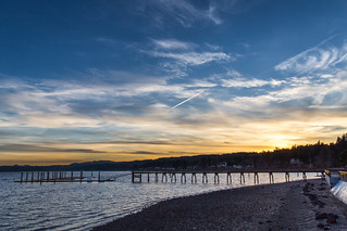 Silverdale Pier and Sunset | by Jonathan Miske