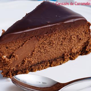 Chocolate Cheesecake | by Corazón de Caramelo
