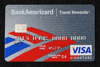 Chip-enabled Bank of America BankAmericard Visa Signature Credit Card | by Aranami
