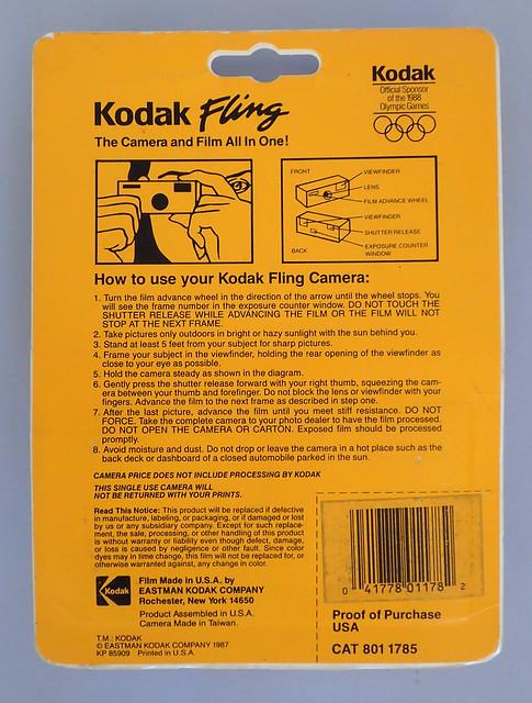 Kodak Fling 110 ASA200