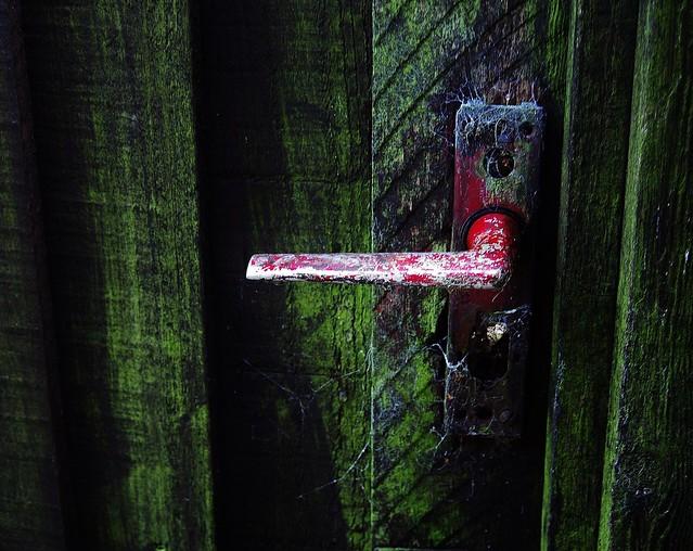 Urban Faversham - The secret door.