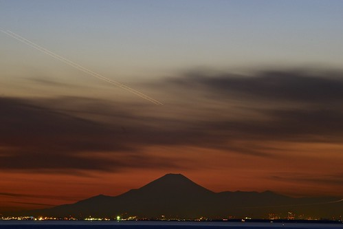 winter light sunset sun sunlight color tokyo evening twilight darkness takumar chiba citylights nightlight m42 東京 富士山 a7 aasia mtfuji tokyobay 2015 千葉 東京湾 япония токио 美浜区 andotime manuallensonly