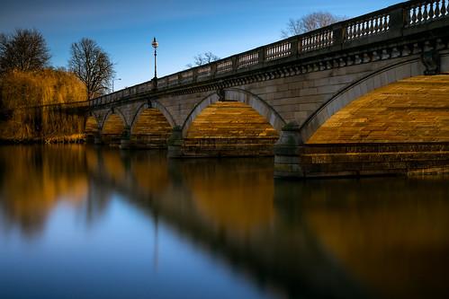 uk morning bridge london sunrise golden hydepark serpentine 8am andrevalente thatlight affvalente