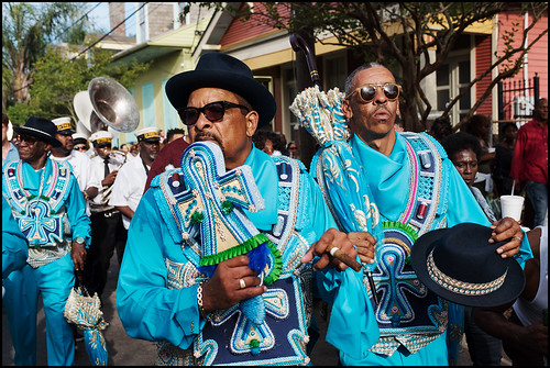 Black Men of Labor Social Aid and Pleasure Club annual second line parade on October 23, 2016. Photo by Ryan Hodgson-Rigsbee rhrphoto.com