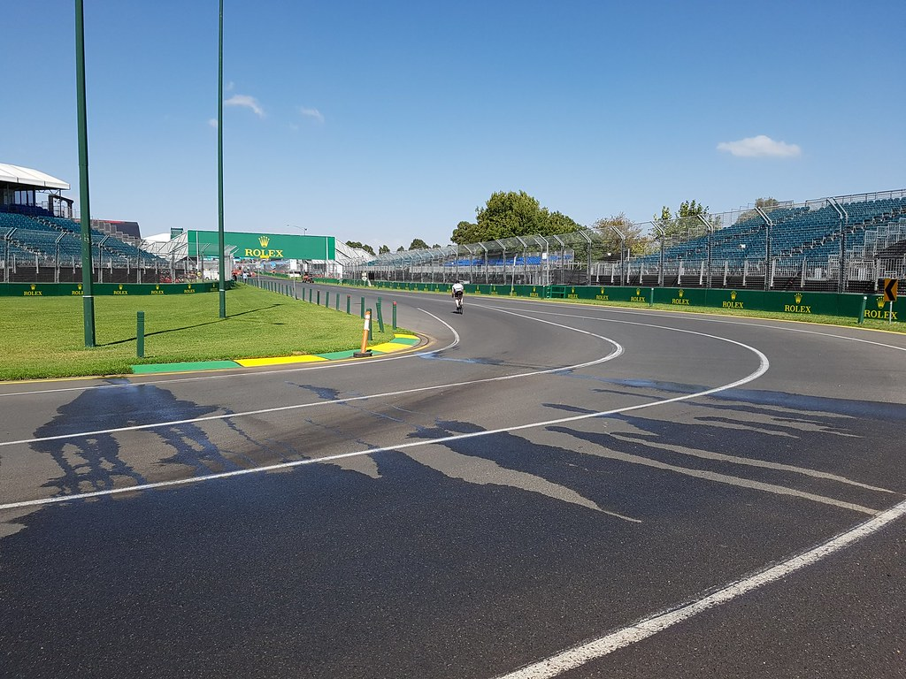 Melbourne Grand Prix Circuit - Turn 1 | The run into Turn 1