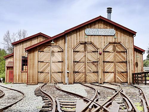 "powaycalifornia trainpark eastersunday wood steel tracks trains depot powaymidlandrailroad museum train house park landscape springtime spring 2018 ""spring 2018"" ""spring2018"" ""springphotography"" ""springtimenature"" ""springnature"""