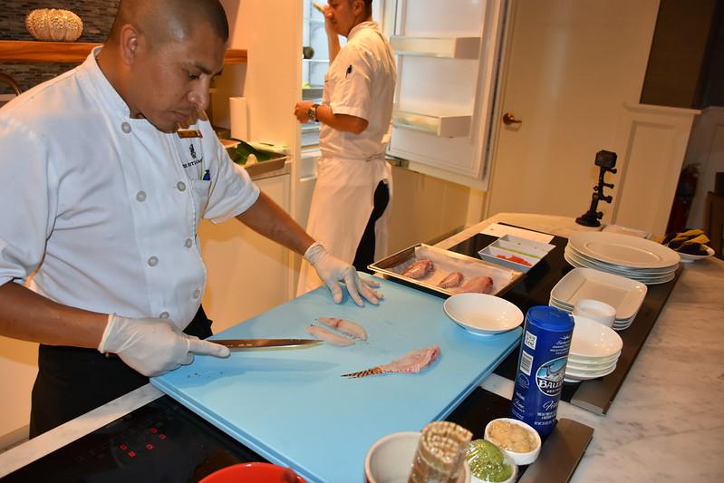 03-27-18  Photos Ritz Cooking Studio Lionfish  18