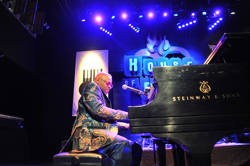 Davell Crawford at WWOZ's 30th Annual Piano Night - April 30, 2018. Photo by Michael E. McAndrew Photography.