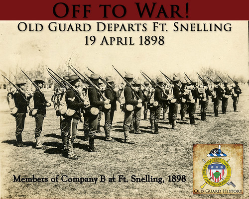 04-19-Old Guard departs Ft. Snelling | by Old Guard History