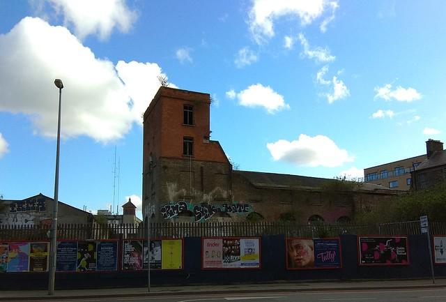 Watkin's Brewery from Cork St, Dublin 8
