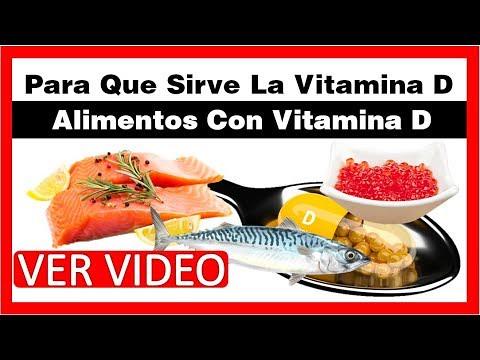 Para qué sirve la vitamina d3