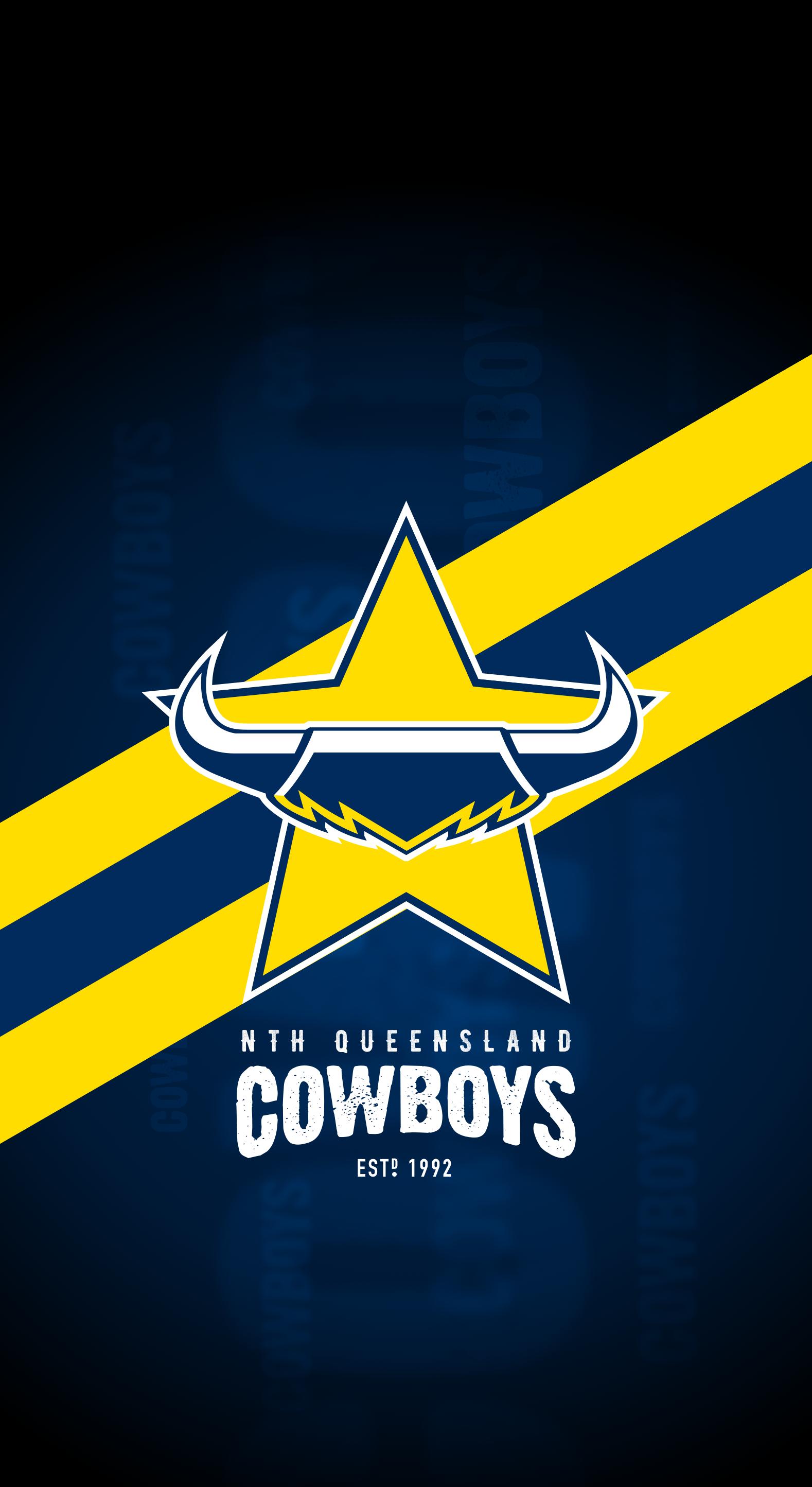North Queensland Cowboys iPhone X Lock Screen Wallpaper