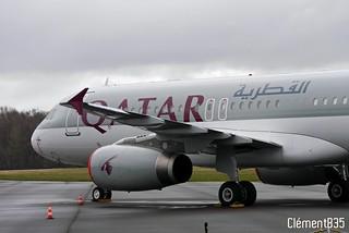 Airbus A320-232 | A7-AAG | Qatar Airways | by ClémentB35