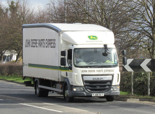 John Deere parts express FJ66 ULT at Welshpool