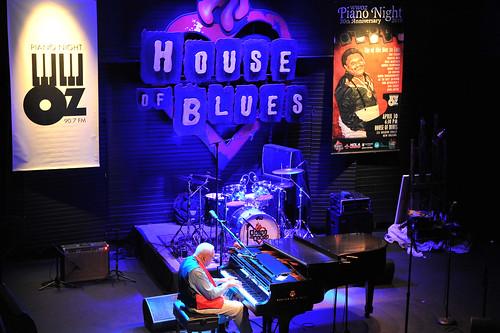 Ellis Marsalis at WWOZ's 30th Annual Piano Night - April 30, 2018. Photo by Michael E. McAndrew Photography.